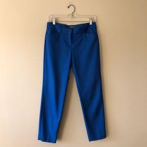 Express cobalt blue Editor pants